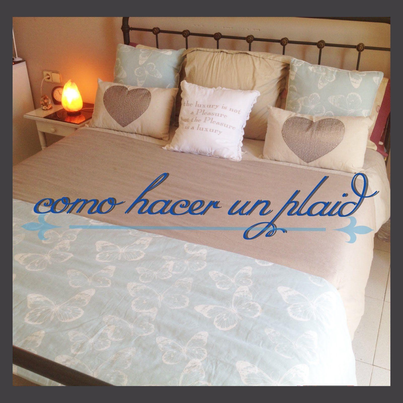 Como hacer un cubre pies para la cama plaid cortinas y - Hacer un cubreradiador ...