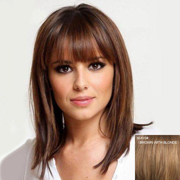 14++ Haircut for silky straight hair ideas