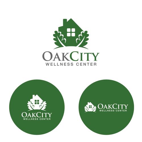 Design An Oak Tree Logo For A New Wellness Center Logo Design Contest Logo Design Contest Tree Logos Logo Design