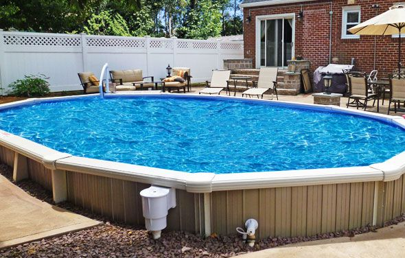 How to purchase an above ground pool just keep swimming - Semi above ground pool ideas ...