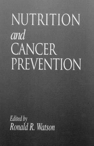 Nutrition and Cancer Prevention; Siraj I. Mufti; Hardback