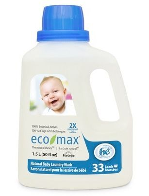 Eco Max Baby 2x Concentrate Laundry Wash Biodegradable Products