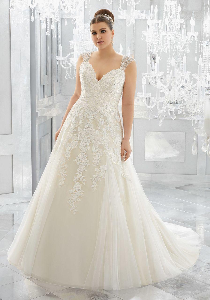 Plus size tulle wedding dress    Amelishan Bridal  Wedding   Pinterest  Tulle wedding