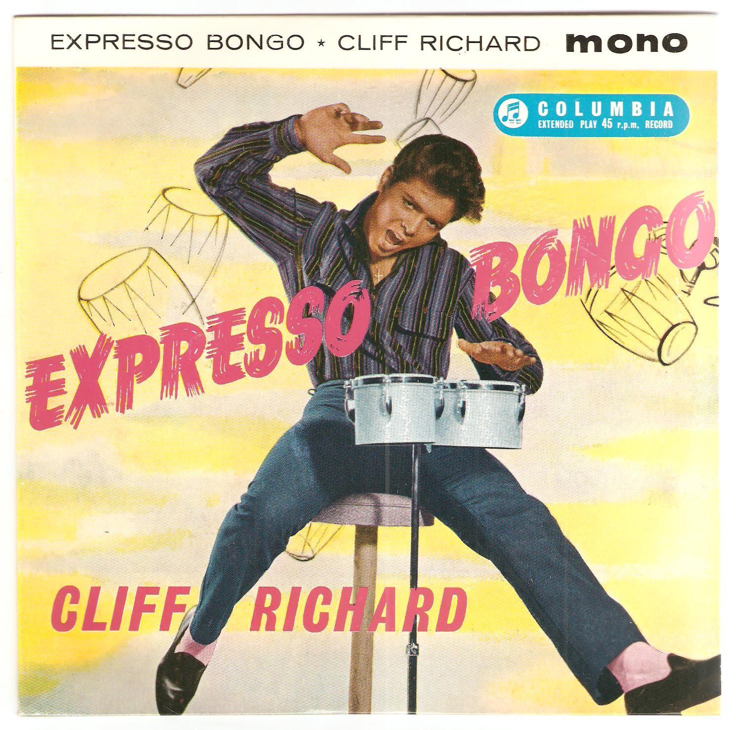 Cliff Richard Expresso Bongo Columbia Seg 7971 Sir Cliff Richard Richard Lp Cover