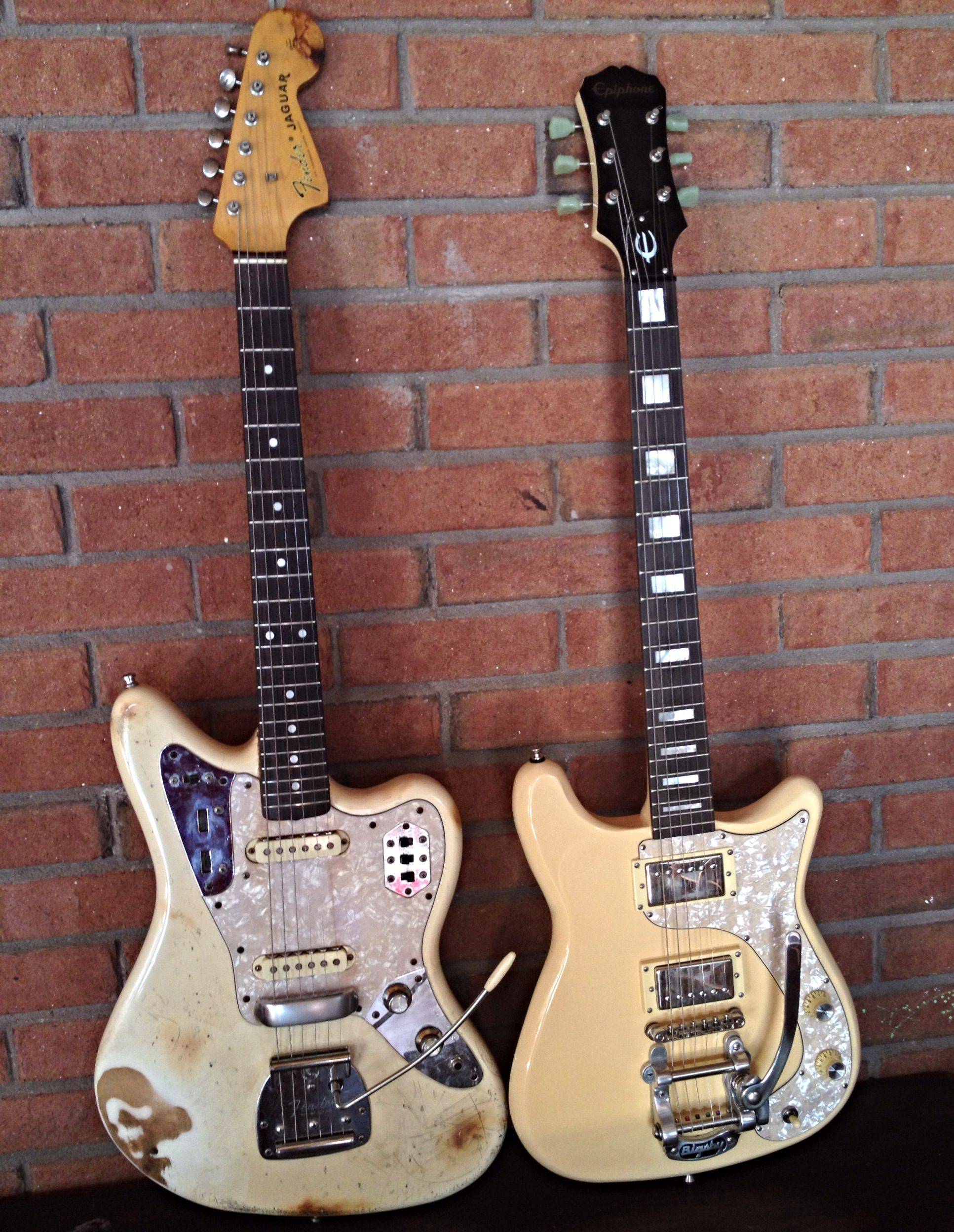 86 MIJ Jag and Epiphone Wilshire Phant-O-Matic    Guitars