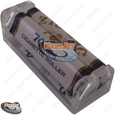1 ZIG-ZAG 70mm Cigarettes Maker Machine Short Roller Rolling Single Width Papers
