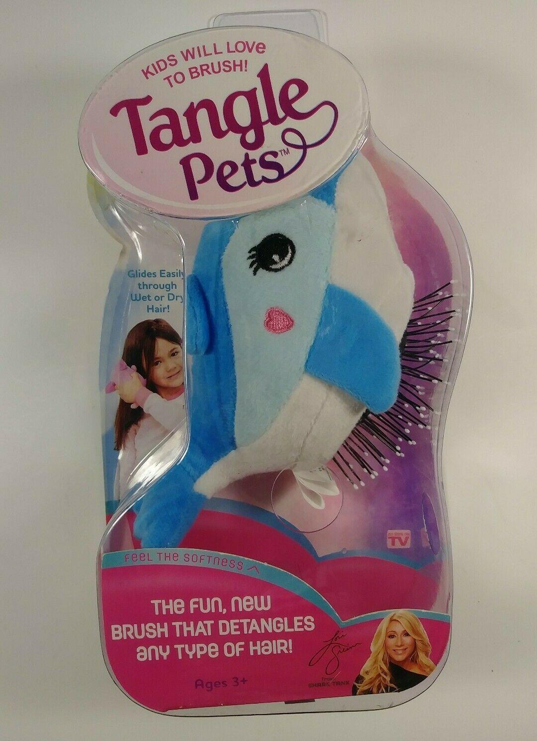 Tangle Pets Hair Detangler Brush Fin Dolphin Seen On Shark Tank Easter Gift In 2020 Hair Detangler Detangler Pet Hair