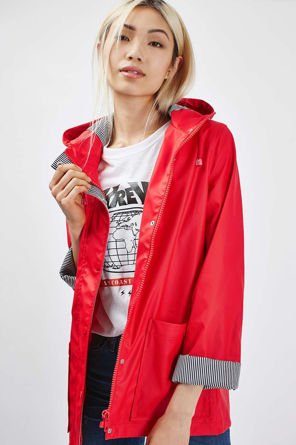 compare price exclusive shoes discover latest trends Rain Mac | New year in 2019 | Rain mac, Jackets, Red raincoat