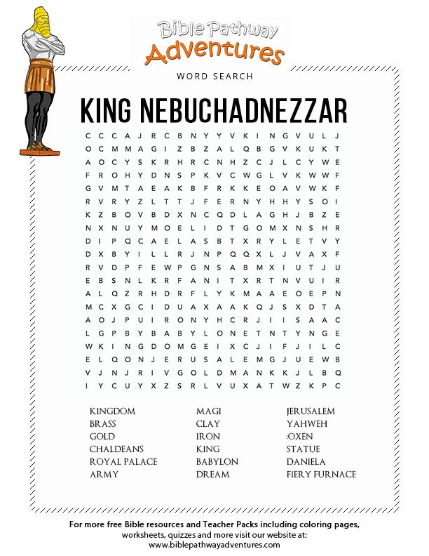 50+ Daniel interprets nebuchadnezzars dream coloring page info