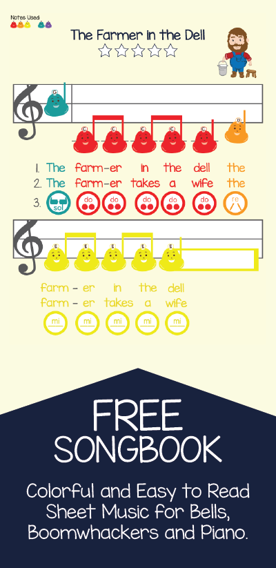 Free Sheet Music For Boomwhackers Bells And Piano Get Started