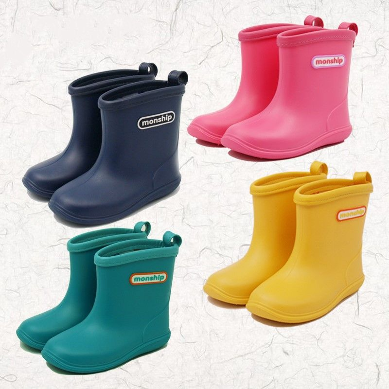 Free Shipping] Buy Best Kids Boots Girls Boys Rain Boots Pvc ...