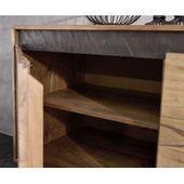 Modern Sideboard Loft 180cm matt white walnut look Riess AmbienteRiess ambience