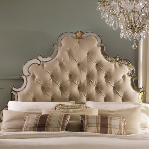 I want this headboard....Hooker Furniture Sanctuary Upholstered ...