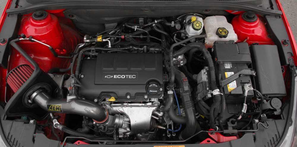 2011 2016 Chevy Cruz Eco 1 4l Turbo With Aem Air Intake Boosts Power Cold Air Intake Chevy Cruze Chevrolet Cruze