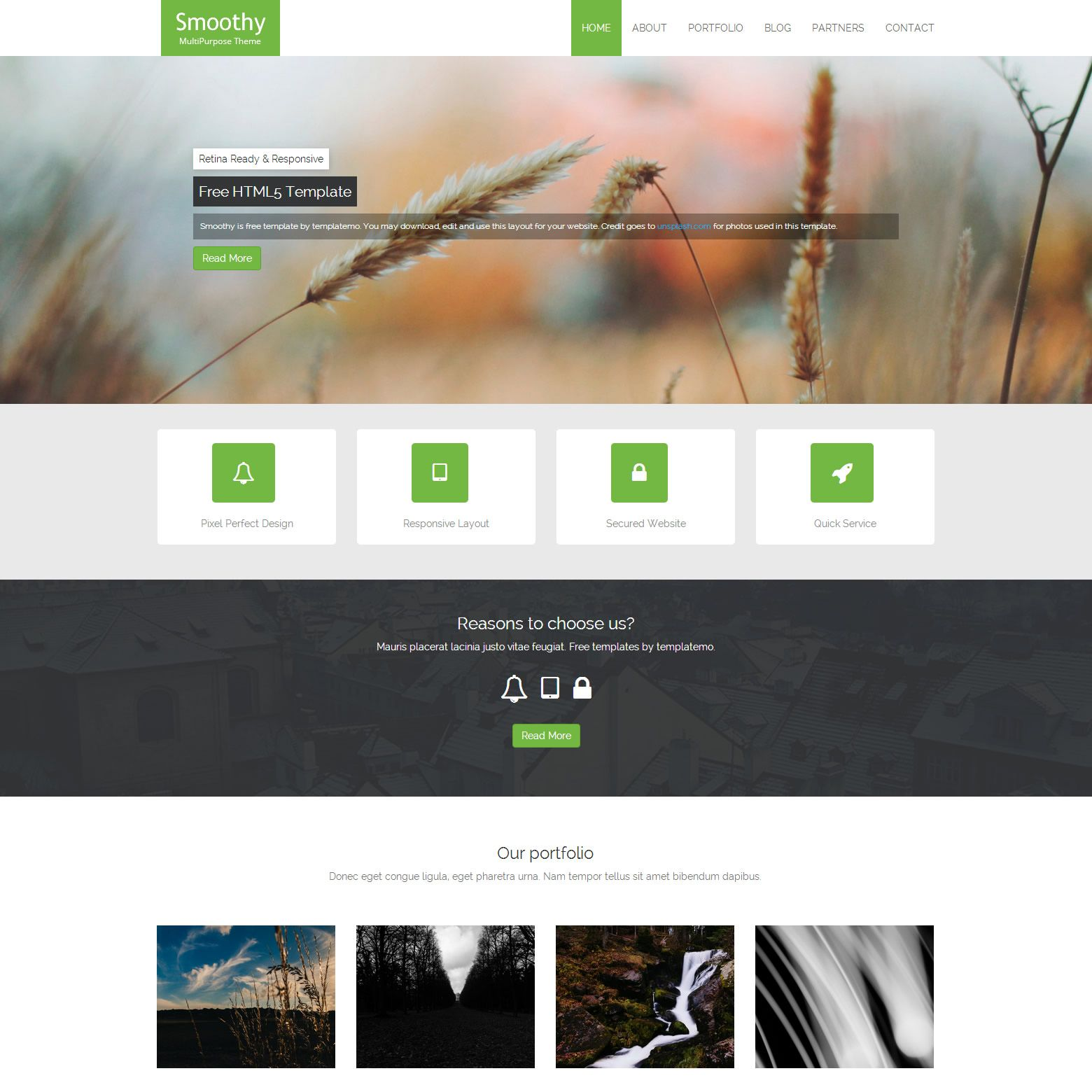 Templatemo 396 Smoothy Css Templates Templates Html And Css Templates