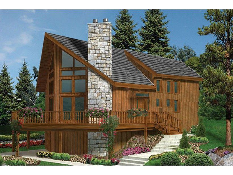 European Style House Plan 3 Beds 2 Baths 1721 Sq Ft Plan 3 279 Cottage Plan Cabin House Plans House Plans