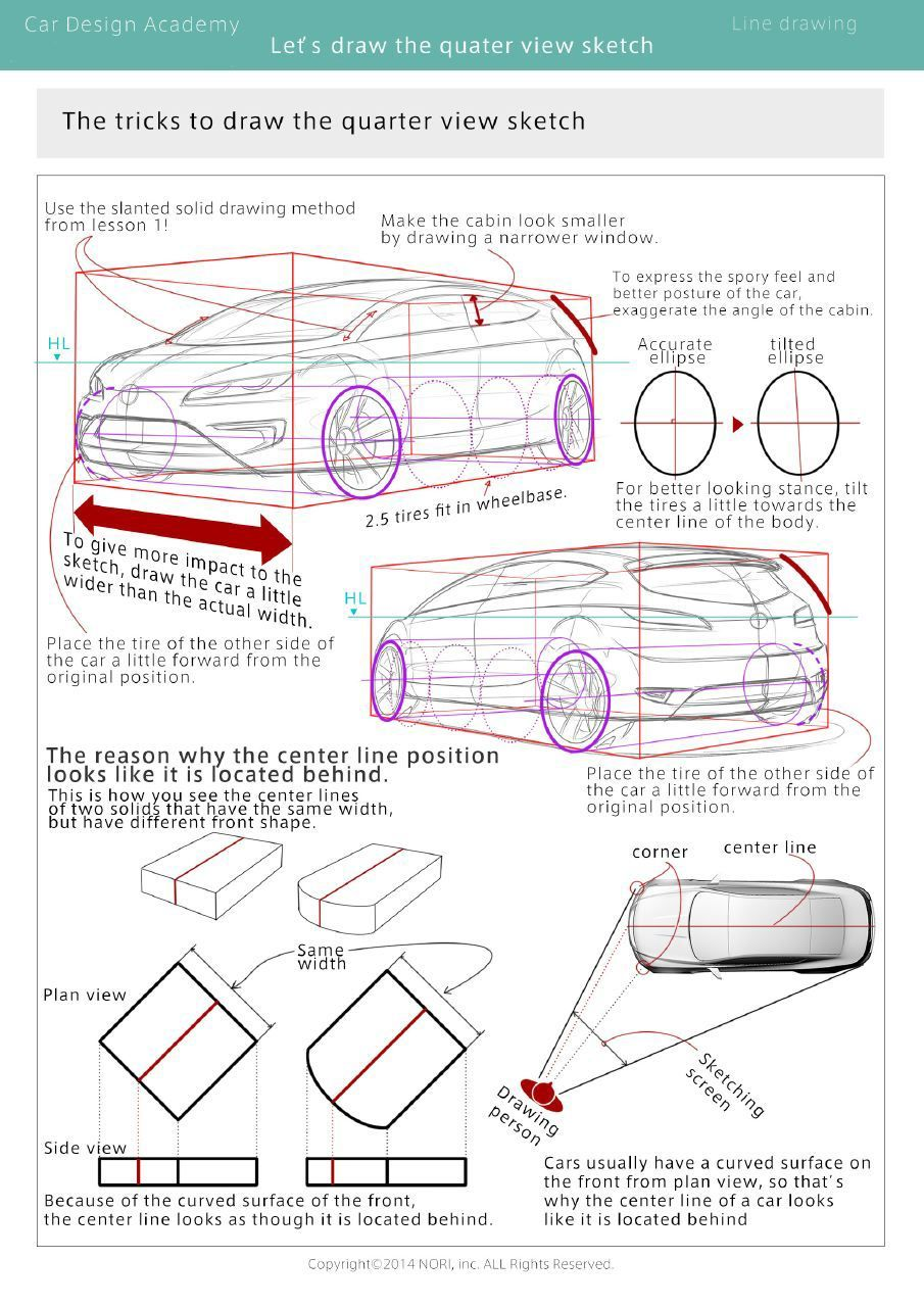 Car Design Academy Launches First Online Auto Design Course Car Design Car Design Sketch Design Course