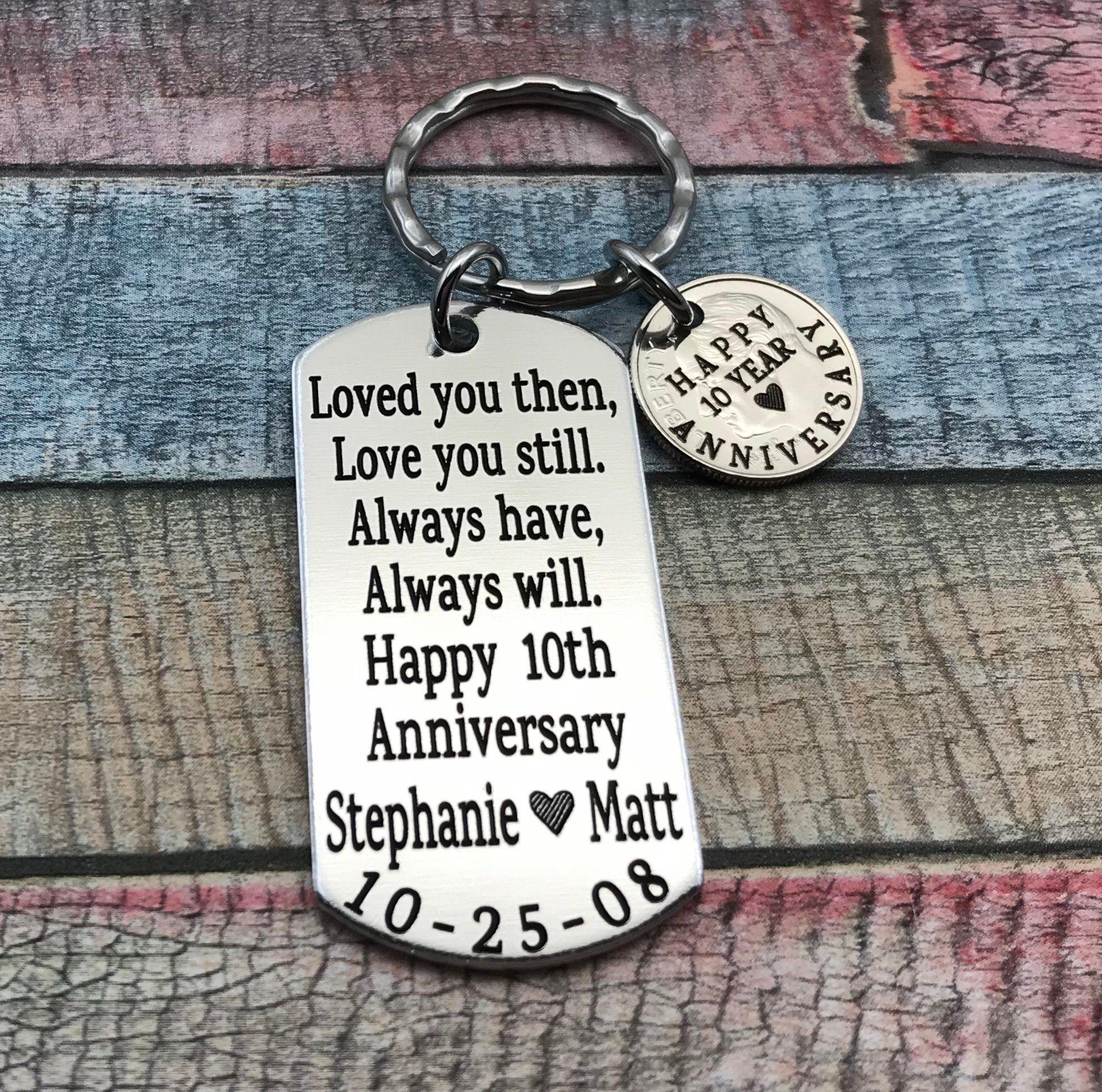 10 Year Anniversary Gift For Husband Gift For Men 10th Wedding Anniv In 2020 10 Year Anniversary Gift Anniversary Gifts For Husband 10 Year Wedding Anniversary Gift