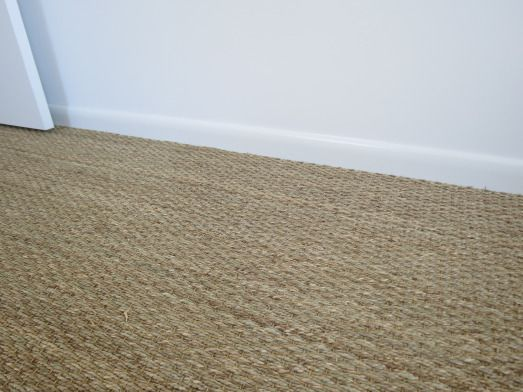 seagrass carpet for the living room? Maybe. Durable and