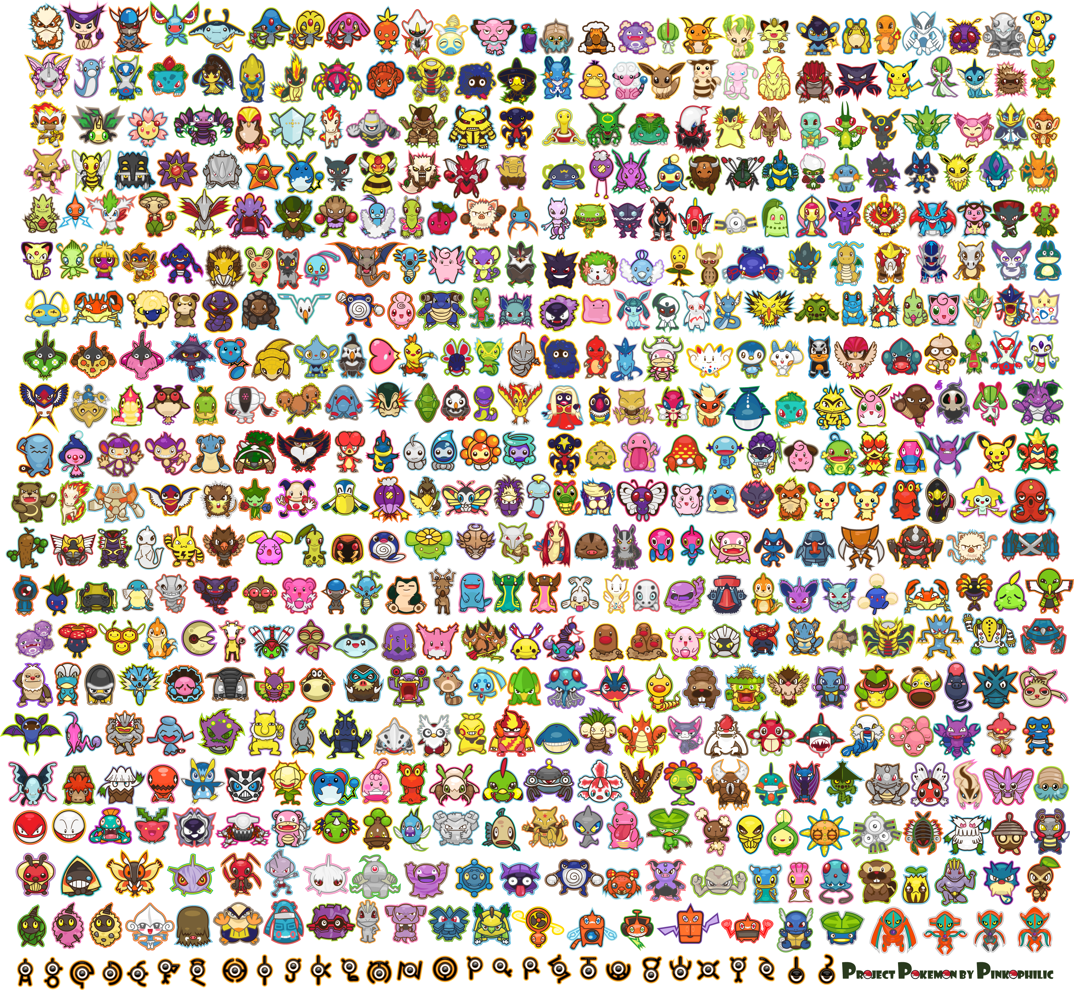 Uncategorized How To Draw All The Pokemon whole pokemon character list sept 1 2012 png the character