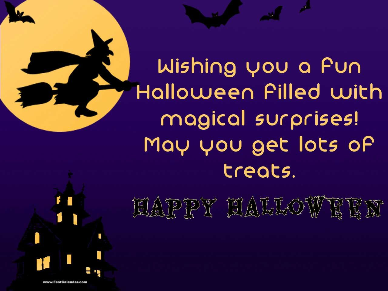 Wonderful Happy Halloween Wish