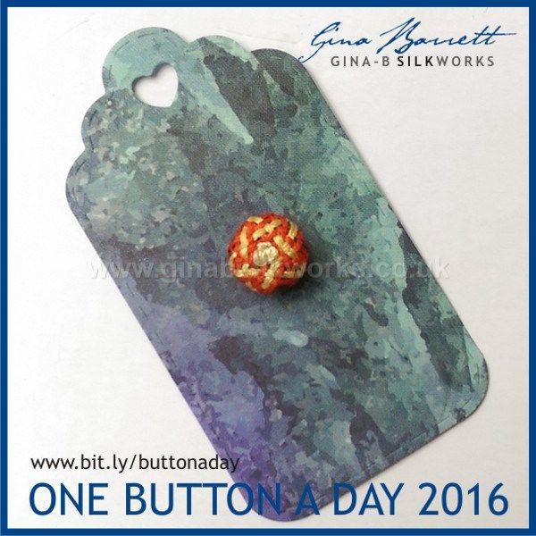 Day 134: Abegg Star #onebuttonaday by Gina Barrett