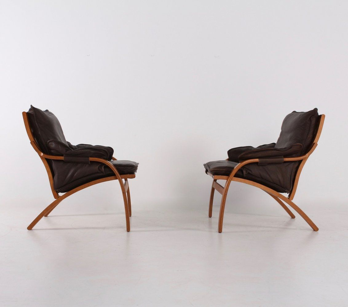 For Sale Reclining Leather Chairs By Mogens Hansen Leather Recliner Chair Leather Chair Chair