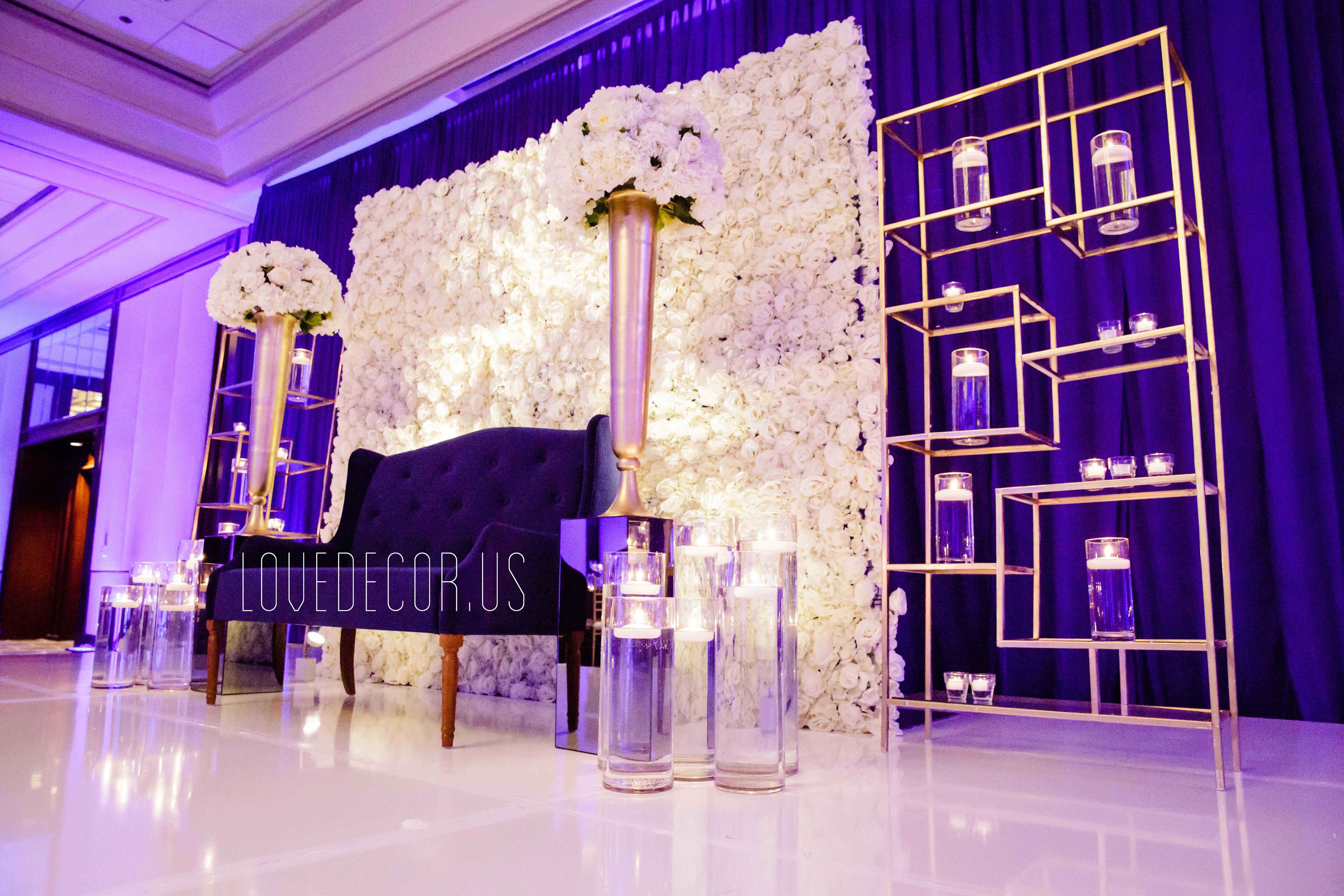 Sangeet Mehndi Massachusetts New Hampshire Decorator Backdrop