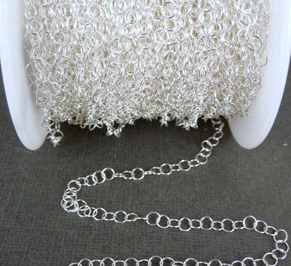 Chaîne de pied  argent Sterling 4mm fil câble par jewelersparadise, $7.95