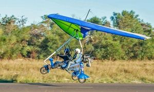 Groupon - Microlight Flight from R499 for One with Microlight Introduction…