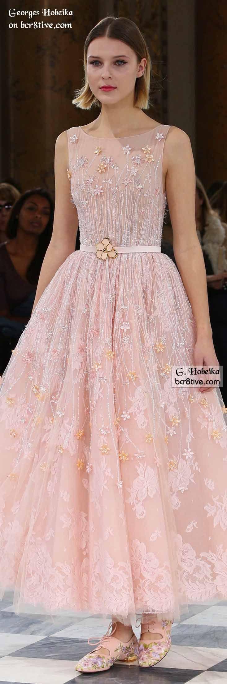 Georges Hobeika Spring 2016 Haute Couture | Vestidos de fiesta ...