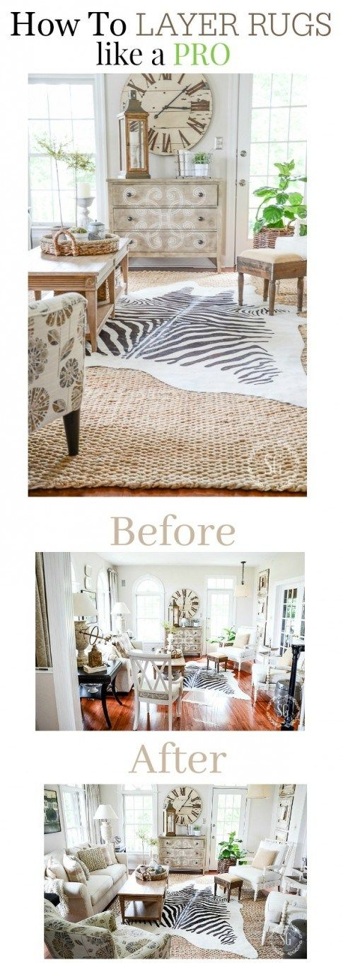 How To Layer Rugs Like A Pro Stonegable Ideas