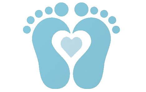 baby footprint clip art cliparts co baby shower pinterest rh pinterest com baby footprints clipart free baby footprint clipart pink