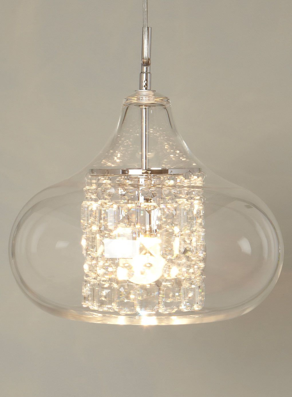 Clear Saxon Pendant - lighting - For The Home - BHS | Light up my ...