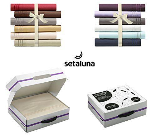 Setaluna Premier Soft & Silky 100% Satina Bed Sheet Set, California King, Beige cream, Setaluna http://www.amazon.com/dp/B00X9D8QCY/ref=cm_sw_r_pi_dp_ip5Dwb0XAN0XP