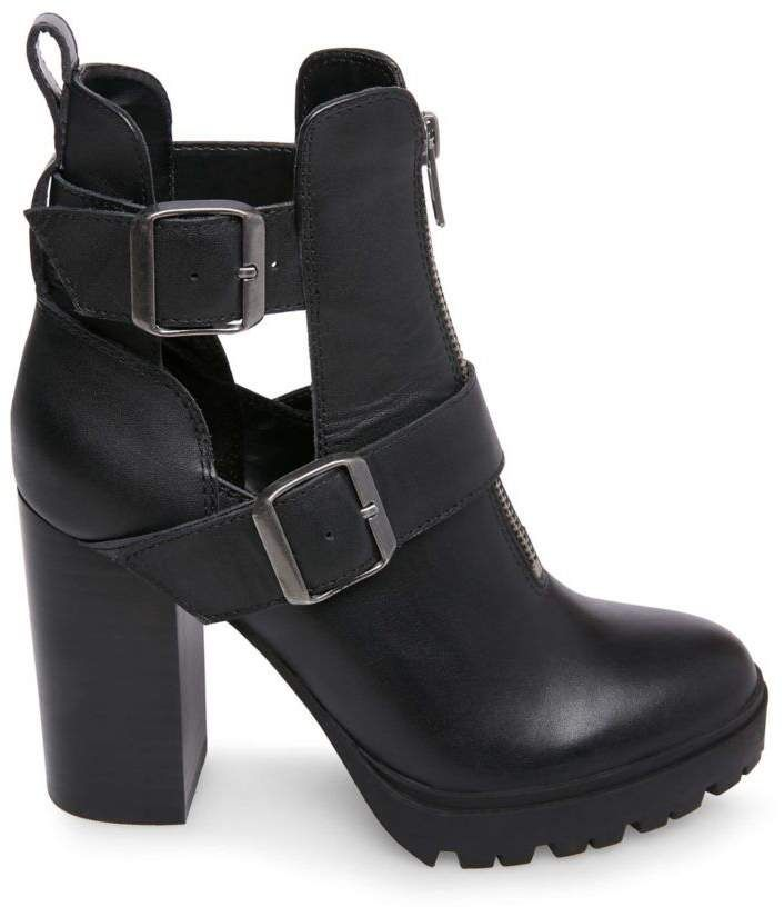 383d4f619ad Lavish black leather in 2019 | Products | Black leather boots, Shoes ...