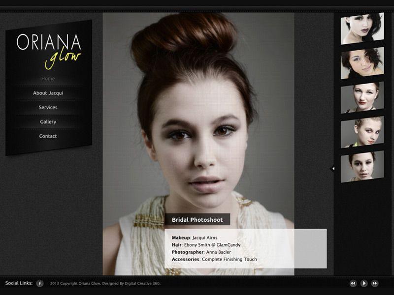 Risultati immagini per portfolio makeup artist | portfolio website ...