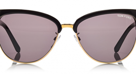 Tom Ford Black and Gold Sunglasses via @zieben #ZiebenMare #TomFord #sunglasses #black #gold #glam #Styleshack