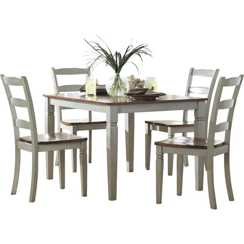 Three Posts Ayleen 5 Piece Dining Set Reviews Wayfair In 2021 Dining Room Sets Kitchen Dining Sets 5 Piece Dining Set