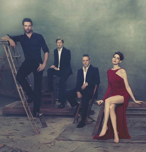 Anne Hathaway Les Miserables Interview Video: The Decision To Shoot Anne Hathaway Barefoot Is Absolutely