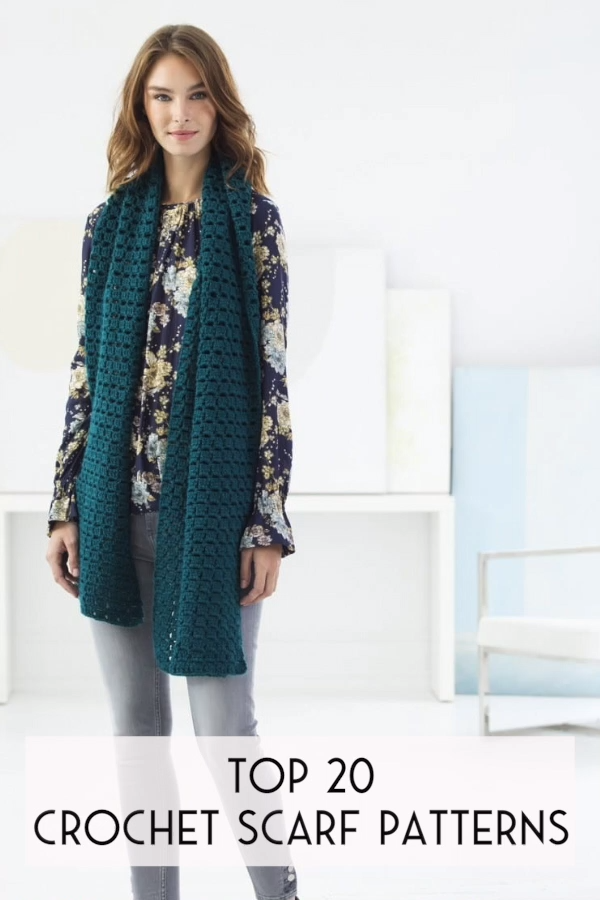 Photo of Crochet Scarf Free Patterns – top 20