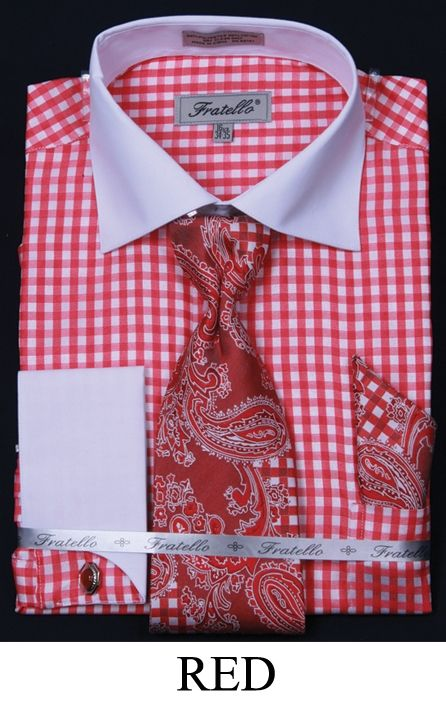 This Fratello Men 39 S French Cuff Dress Shirt Comes In