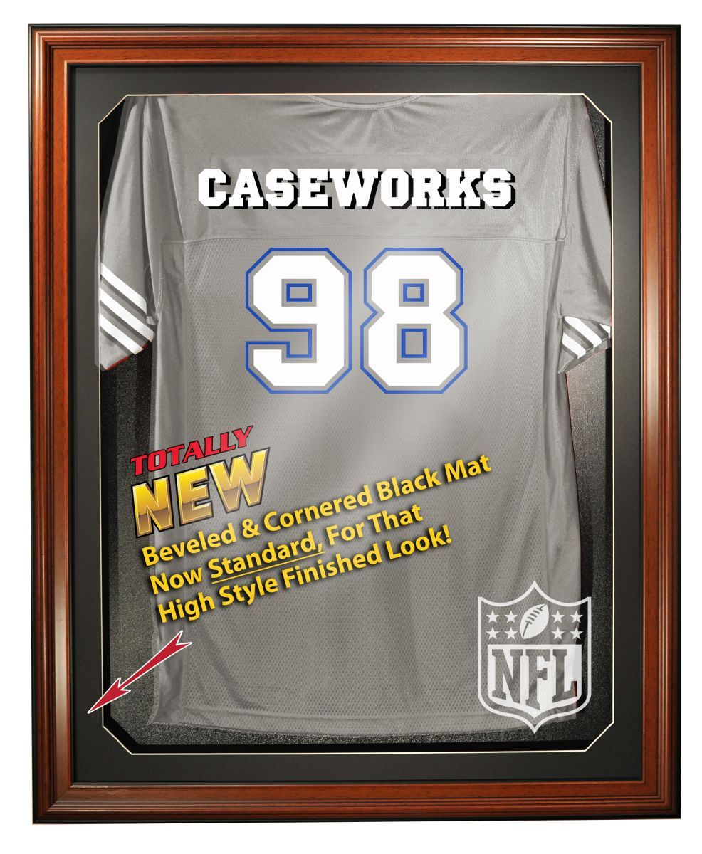 NFL Logo Full Size Removable Face Jersey Display ed150391a