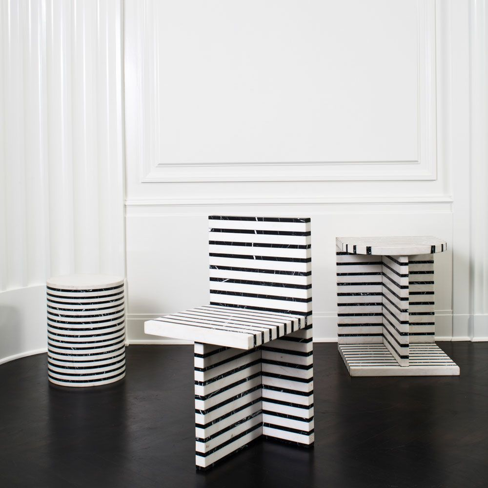 Lineage stool | Kelly wearstler, Ottoman stool and Stools