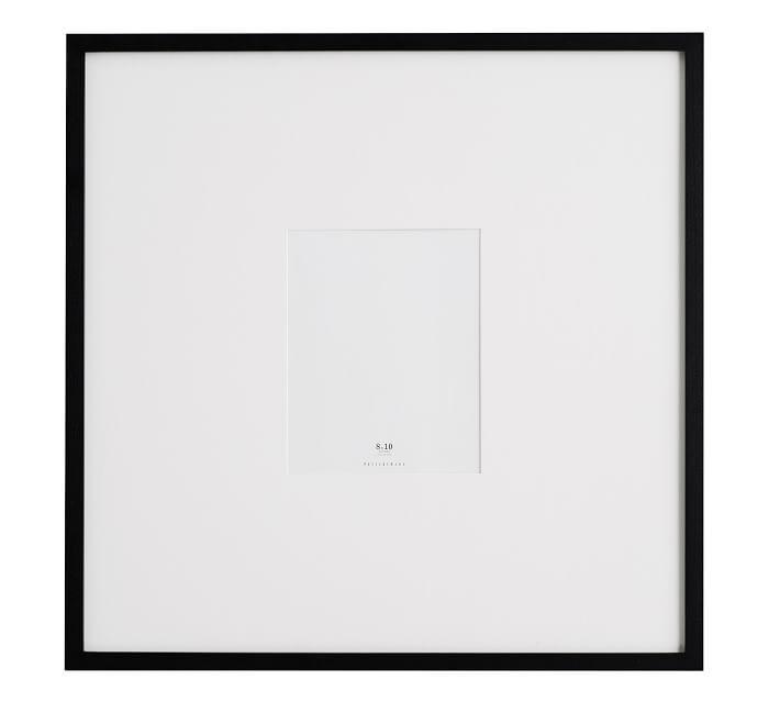 Wood Gallery Oversized Mat Frames Frame Picture Frames