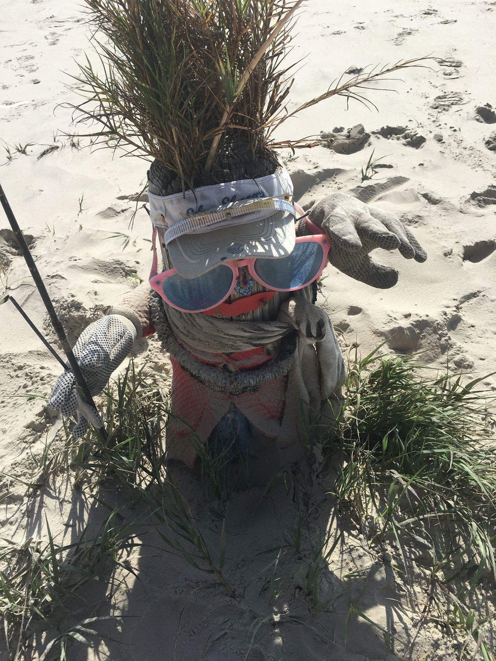 Greeter at port aransas beach texas port aransas beach