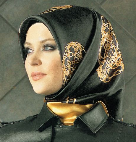 Armine Silk Hijab Fall Winter 2014-2015 #5740 | Modefa USA