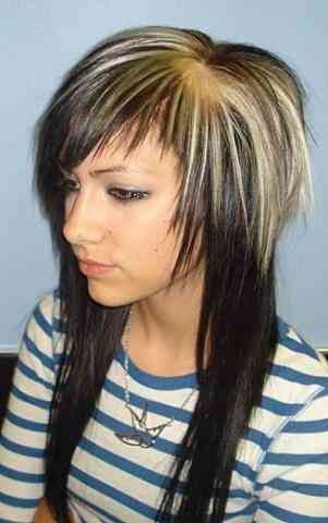 Frisuren Damen Oben Kurz Hinten Lang Pinterest Woman Hair And
