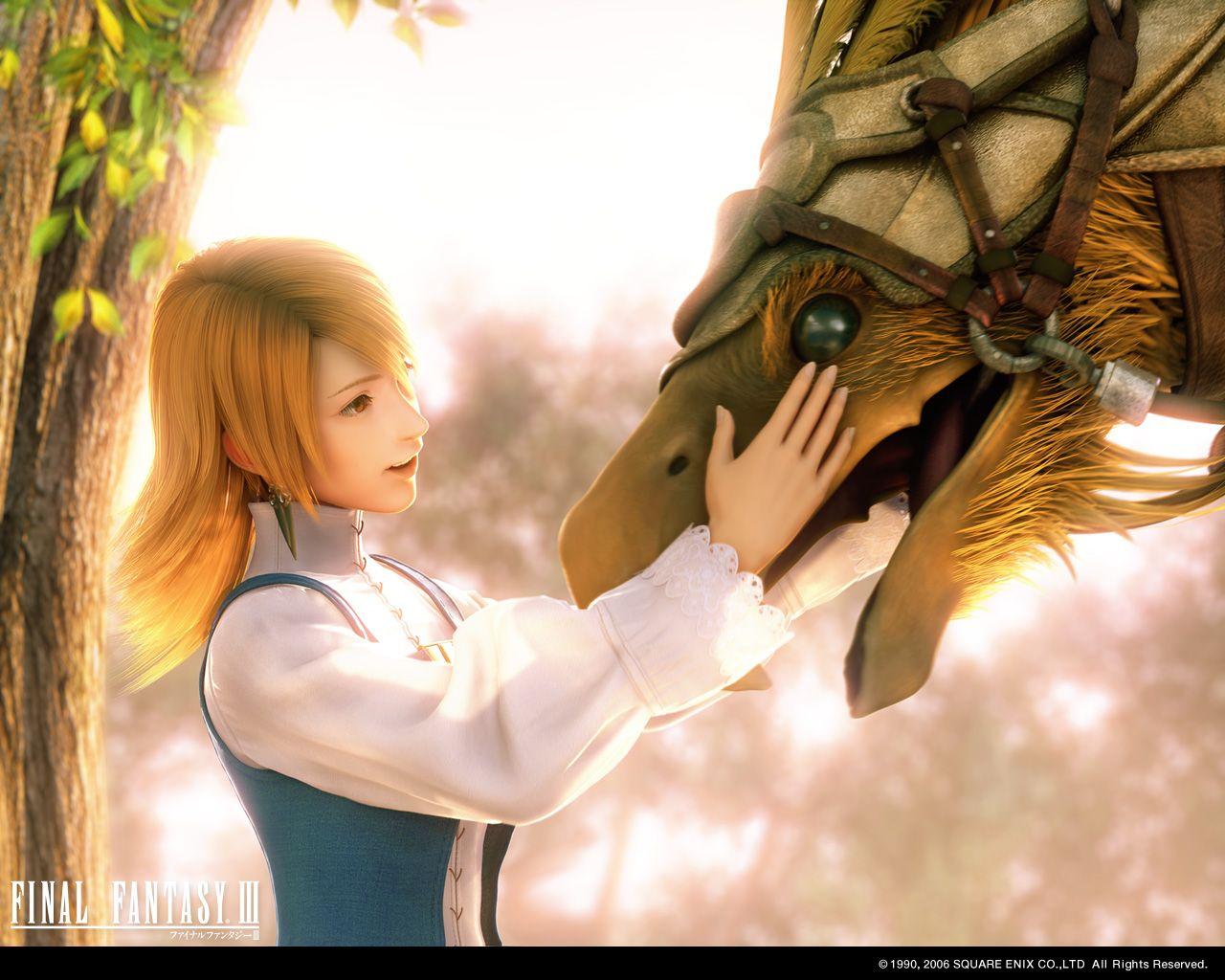 Final Fantasy 3 Wallpaper Final Fantasy Final Fantasy 3 Final