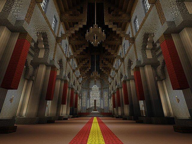 Throne Room Minecraft Blueprints Minecraft Palace